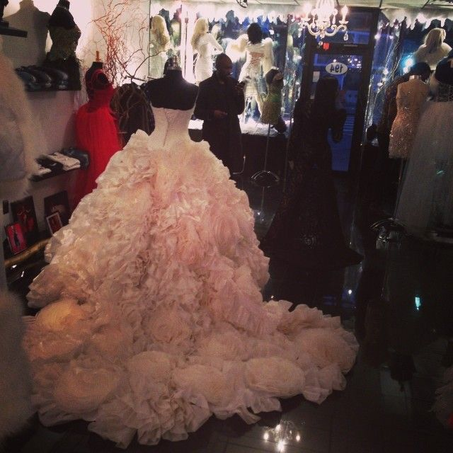 My Future Wedding Dress designer, Versailles in Brooklyn