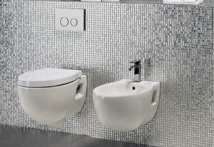 Mosaico di vetro con foglia d 39 oro mosaici bagno - Mosaico grigio bagno ...