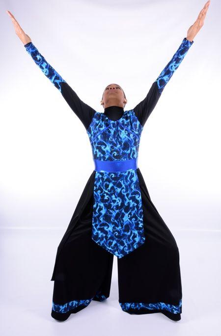 Prophetic Flame 3pc Set Rejoice Dance Ministry Praise Dance Outfits Garment Of Praise Dance Garments