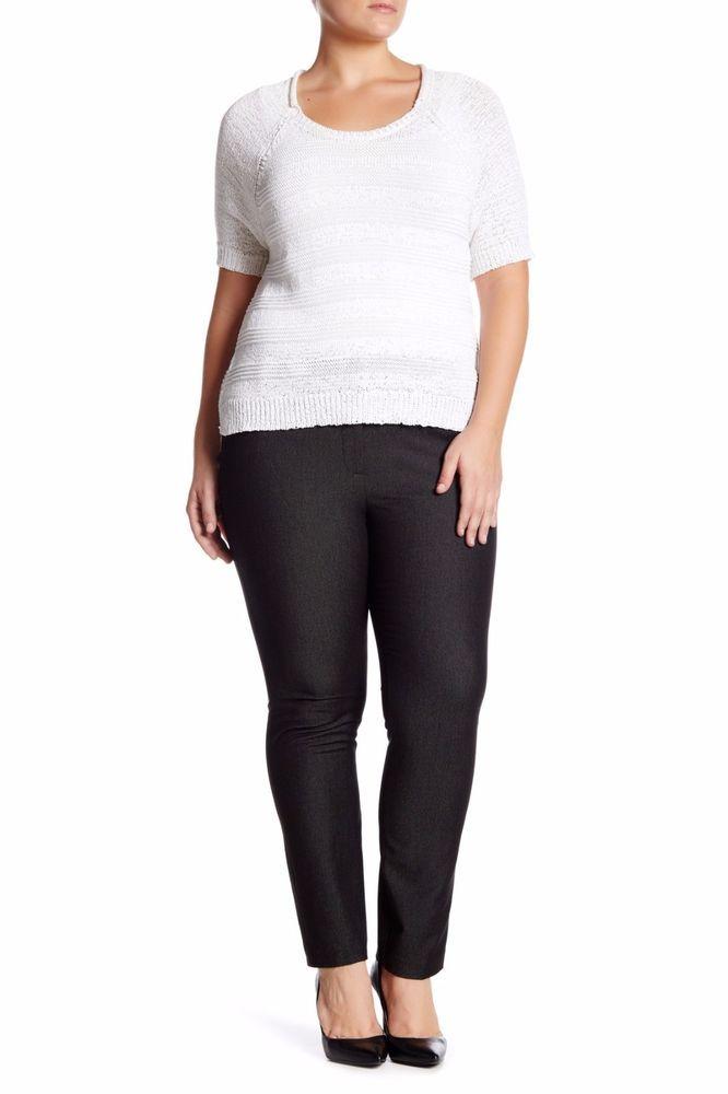 00498462fd4 Amanda   Chelsea Heather Speckle ankle Pant (Plus Size) size 18W  120 NWT   AmandaChelsea  CaprisCropped