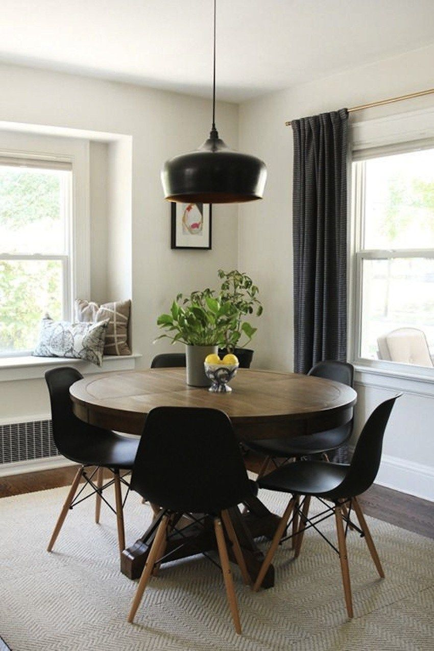 Round Dining Table For 6 Leather Chairs Dining Tables