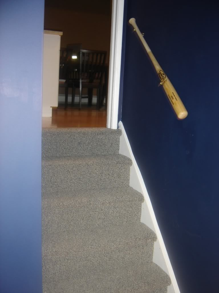 Paint Color For Yankee Room Bat Also Stairs