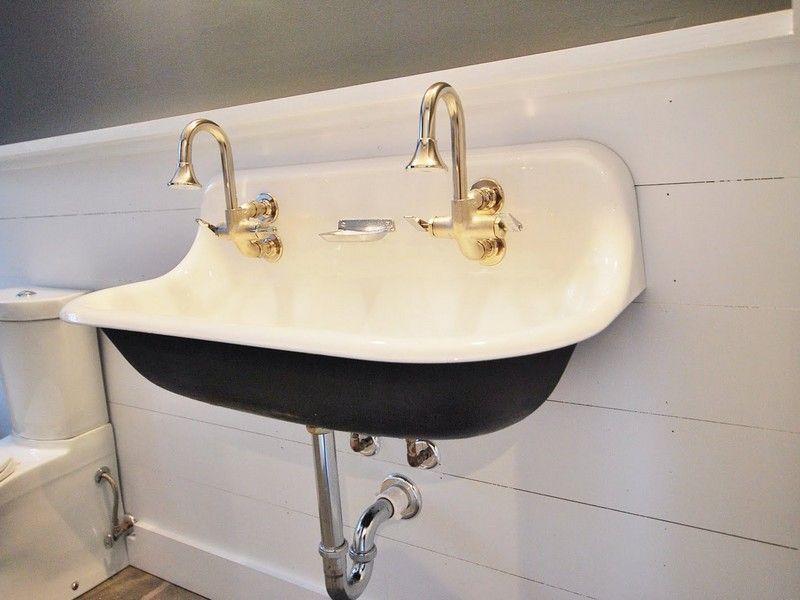 Vintage Style Wall Mount Bathroom Sink Home Design Ideas