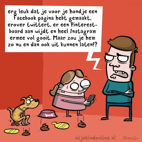 Cartoon jeugd en sociale media mijn kind online for Bureau jeugd en media
