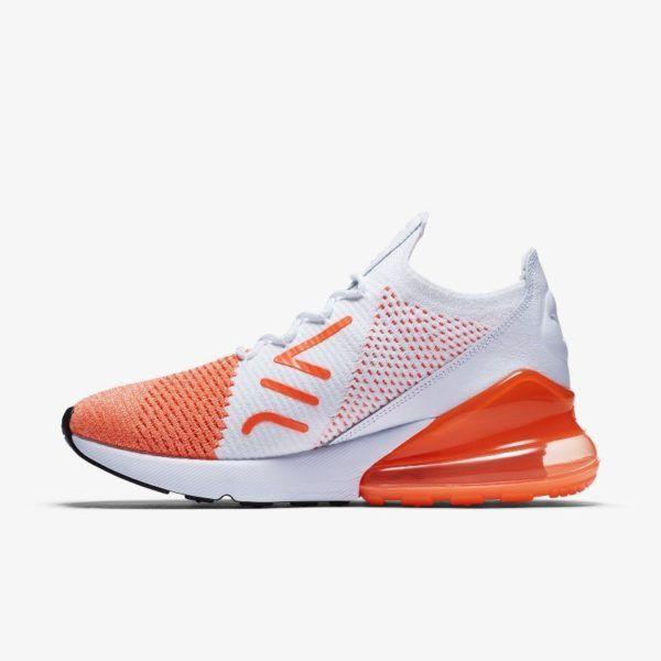 e80942b7f6b8a Nike Air Max 270 Flyknit Crimson Pulse
