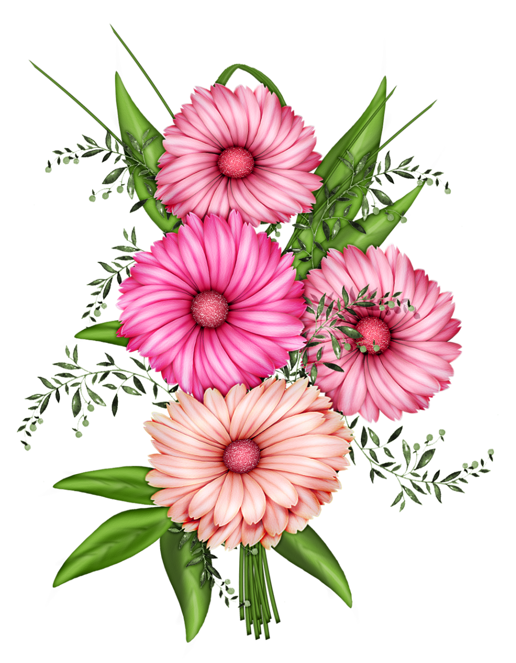 Flowers Transparent PNG Clipart Flower art, Flower