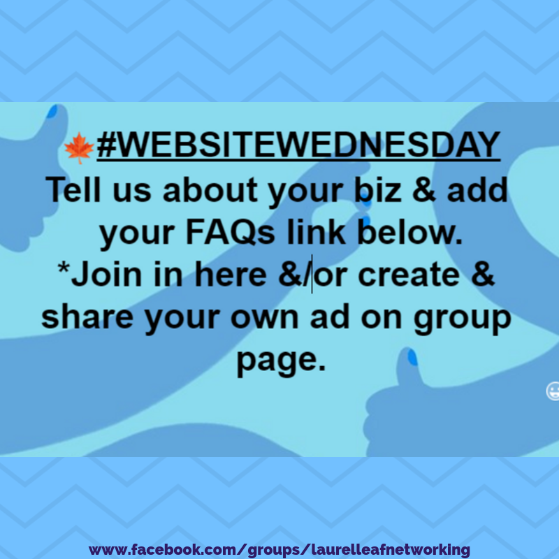 Good Morning And Welcome To Website Wednesday Pop Over To Our Business Group And Pro Business Promo Promote Your Business Work Networking