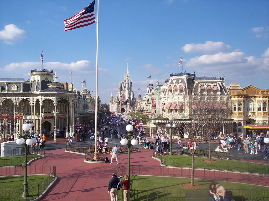 Main Street Disney World