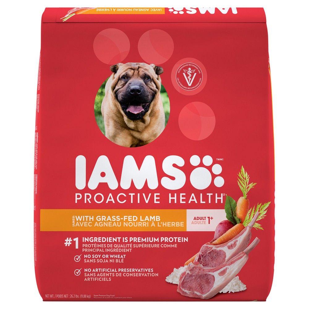Iams Proactive Health Adult Lamb Rice Dry Dog Food 26 2lb Dog Food Recipes Dry Dog Food Iams