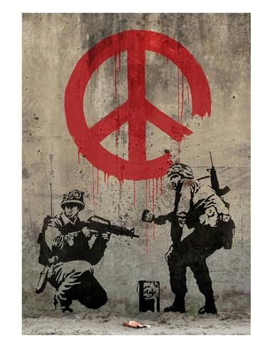 Peace Art by Banksy at AllPosters.com