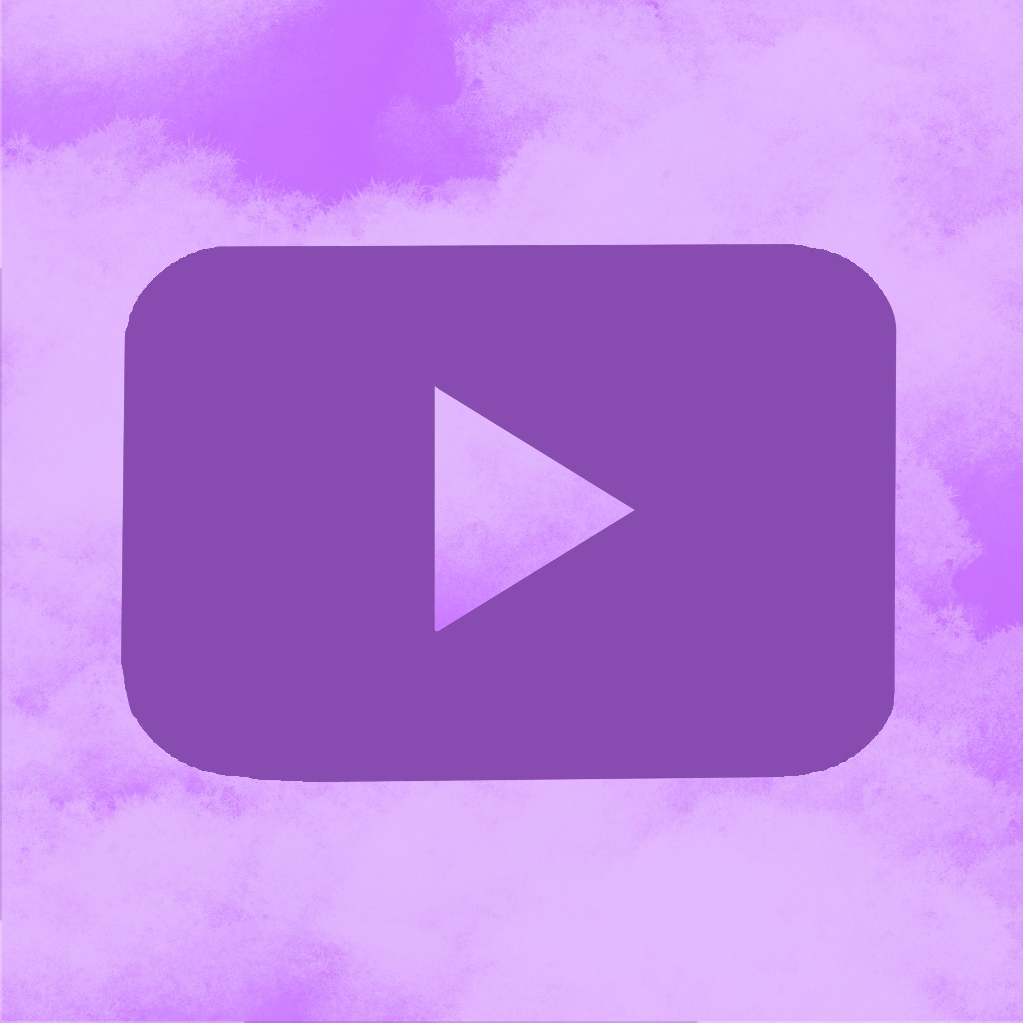 Purple Youtube Icon In 2020 Purple Wallpaper Iphone Dark Purple Aesthetic Iphone Icon