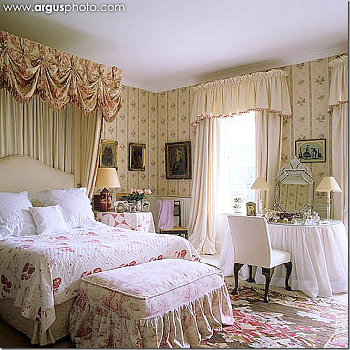 Beautiful Bedroom Girls With Dressing Room: This Is Overall A More Fussy Room Than I Like, However, I
