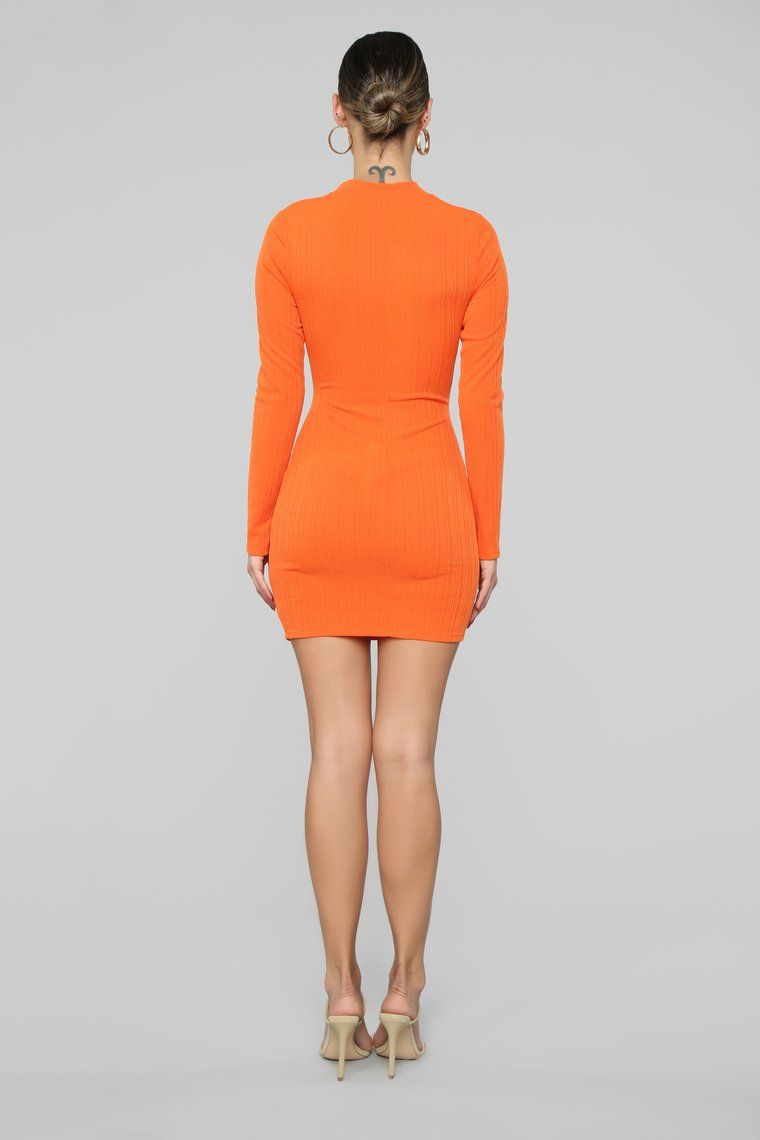 Touches My Soul Sweater Mini Dress Orange Mini Dress Mini Sweater Dress Blue Long Sleeve Sweater [ 1140 x 760 Pixel ]