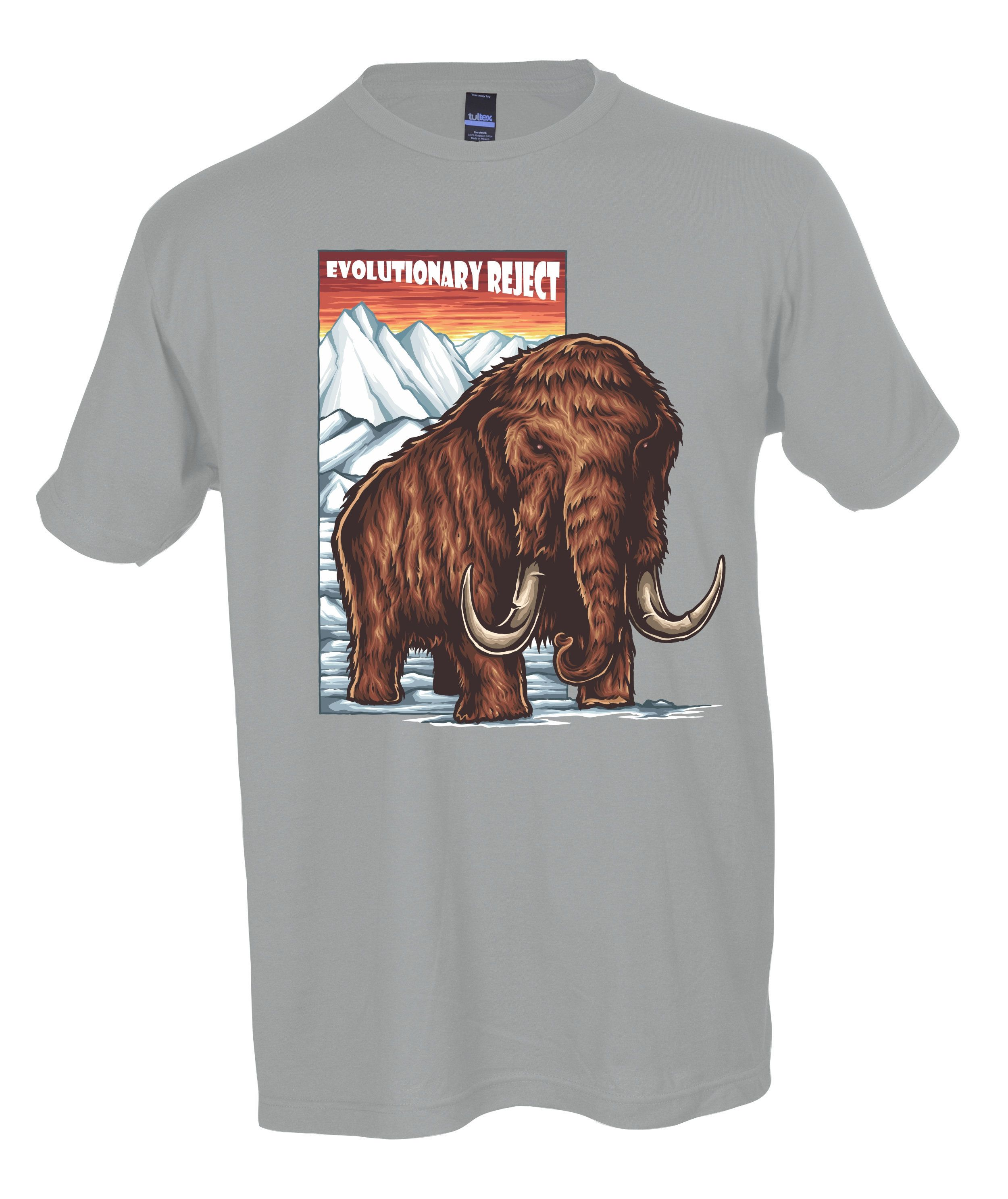 18d70c9796 Big Wooly Mammoth T shirt   Mongo Arts   Super Soft ECO Friendly Tultex    Widespread panic Lot T Shirt