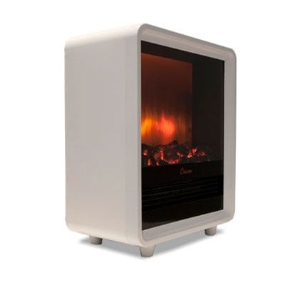 White Electric Fireplace Heater My Bathroom Tile Becomes Frigid