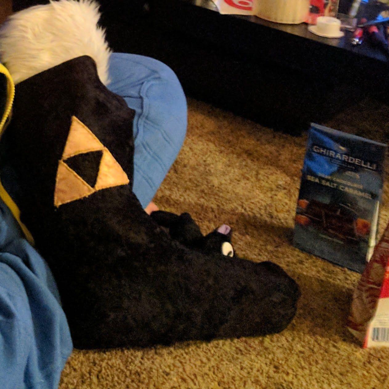 A Home Made Zelda Christmas Stocking