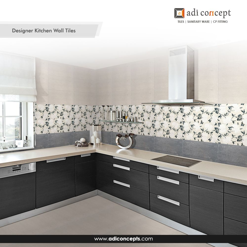 Exclusive Designer Kitchen Wall Tiles Now Available At Adi Concept At Best Price Call Kitchen Tiles Design Kitchen Wall Tiles Design Modern Kitchen Design