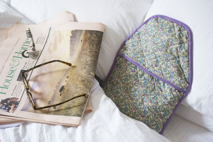 Guest Blog: Liberty Print Hot Water Bottle with Chloe from Stone ... : quilted hot water bottle cover - Adamdwight.com