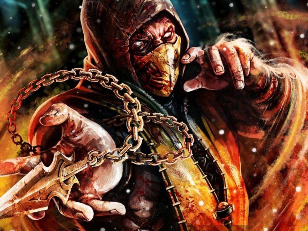 Scorpion Mortal Kombat X Wallpapers Scorpion Mortal Kombat Sub Zero Mortal Kombat Mortal Kombat X Scorpion