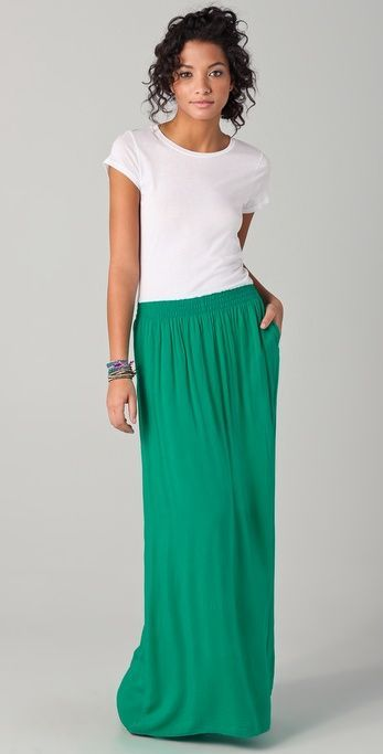 @roressclothes clothing ideas  #women fashion Splendid Tee Maxi Dress
