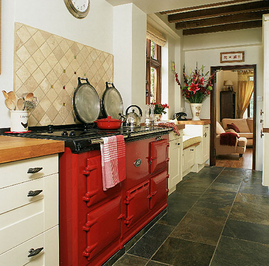 Red And Yellow Kitchen: Red And Yellow Country Kitchens
