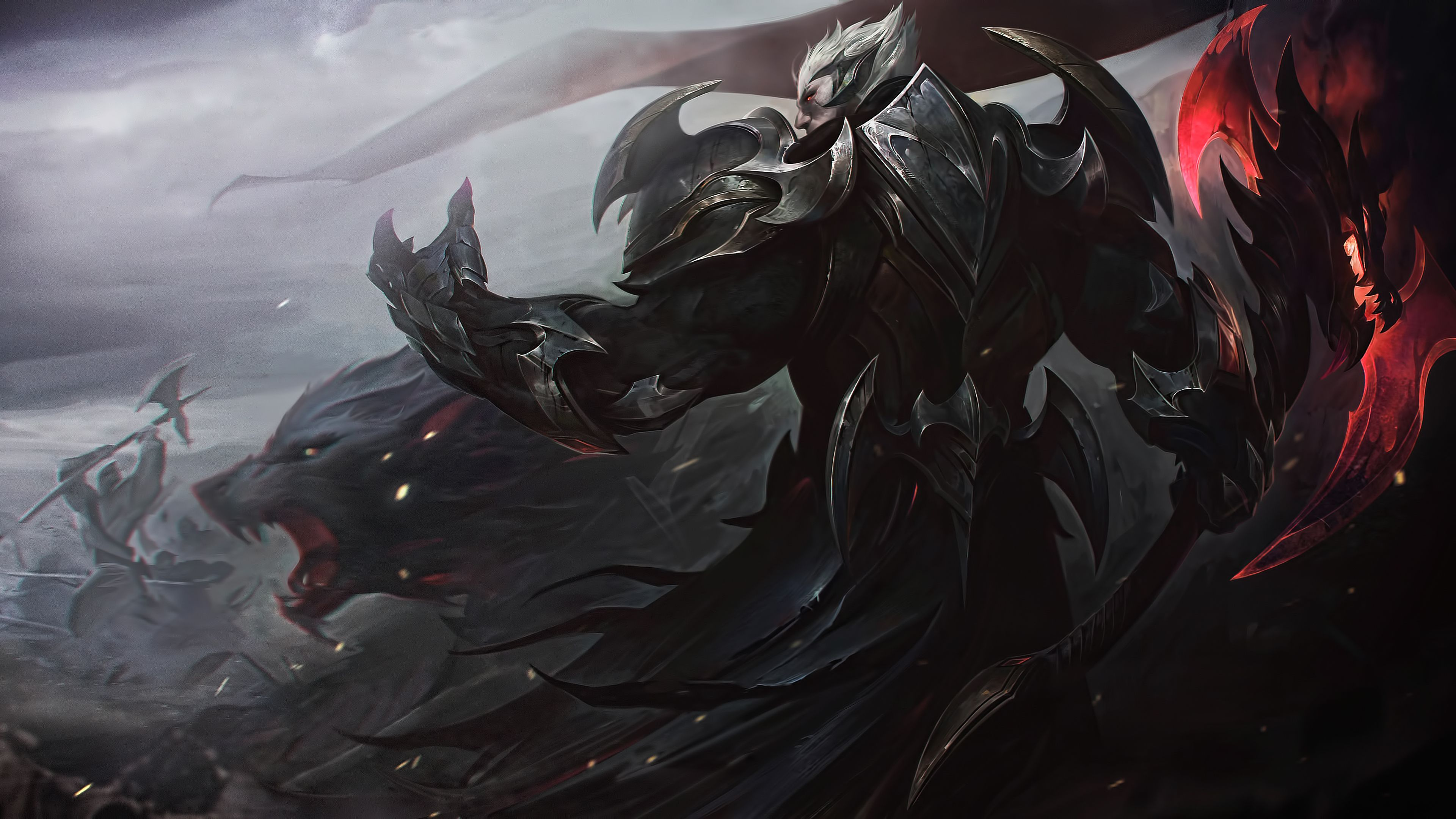 Wallpaper 4k Darius League Of Legends 4k 4k Wallpapers Deviantart