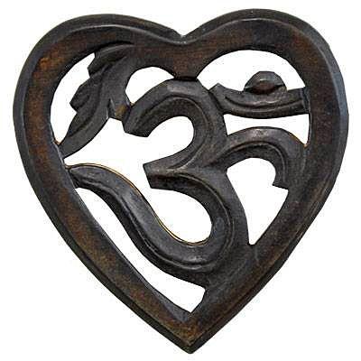Om Symbol Heart Wall Hanging Httpbighappybuddhaom Symbol