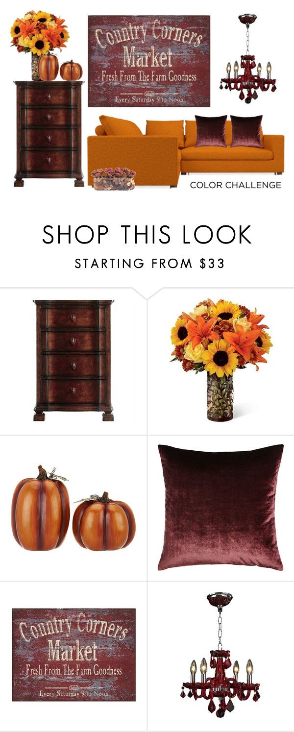 """""""Senza titolo #5601"""" by waikiki24 ❤ liked on Polyvore featuring interior, interiors, interior design, home, home decor, interior decorating, Stanley Furniture, Home Reflections, Eastern Accents and John-Richard"""