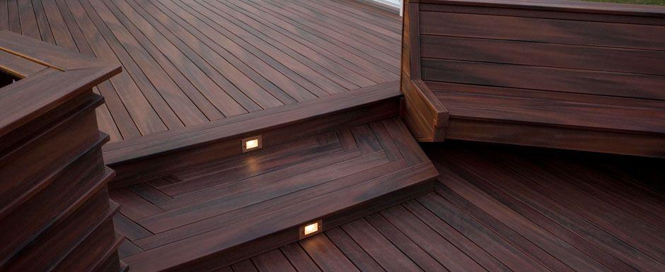 plastic deck fiberon tropics mohogany wood plastic composite deck