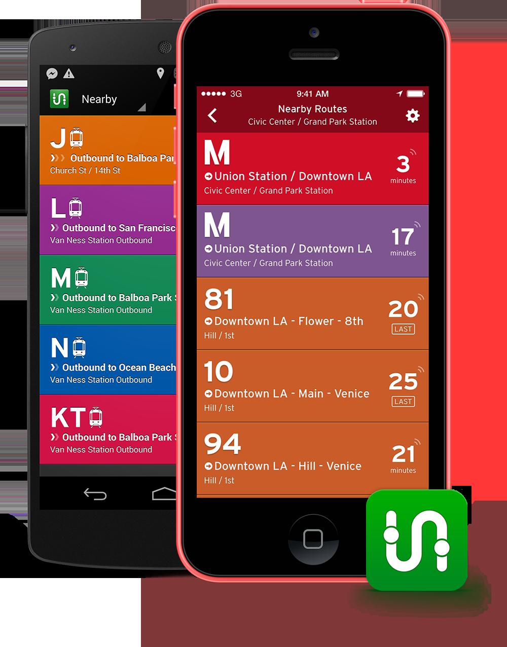 Helpful for navigating major cities. NJ Transit