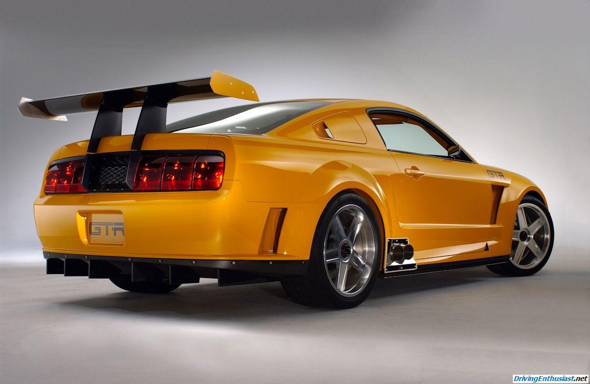 2004 mustang gt r concept car