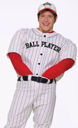 New Funny Mens Baseball Player Comedy Halloween Costume Adult Standard (Chest 42-44in) Sc 1 St Pinterest  sc 1 st  Germanpascual.Com & Mens Baseball Costume u0026 New Funny Mens Baseball Player Comedy ...