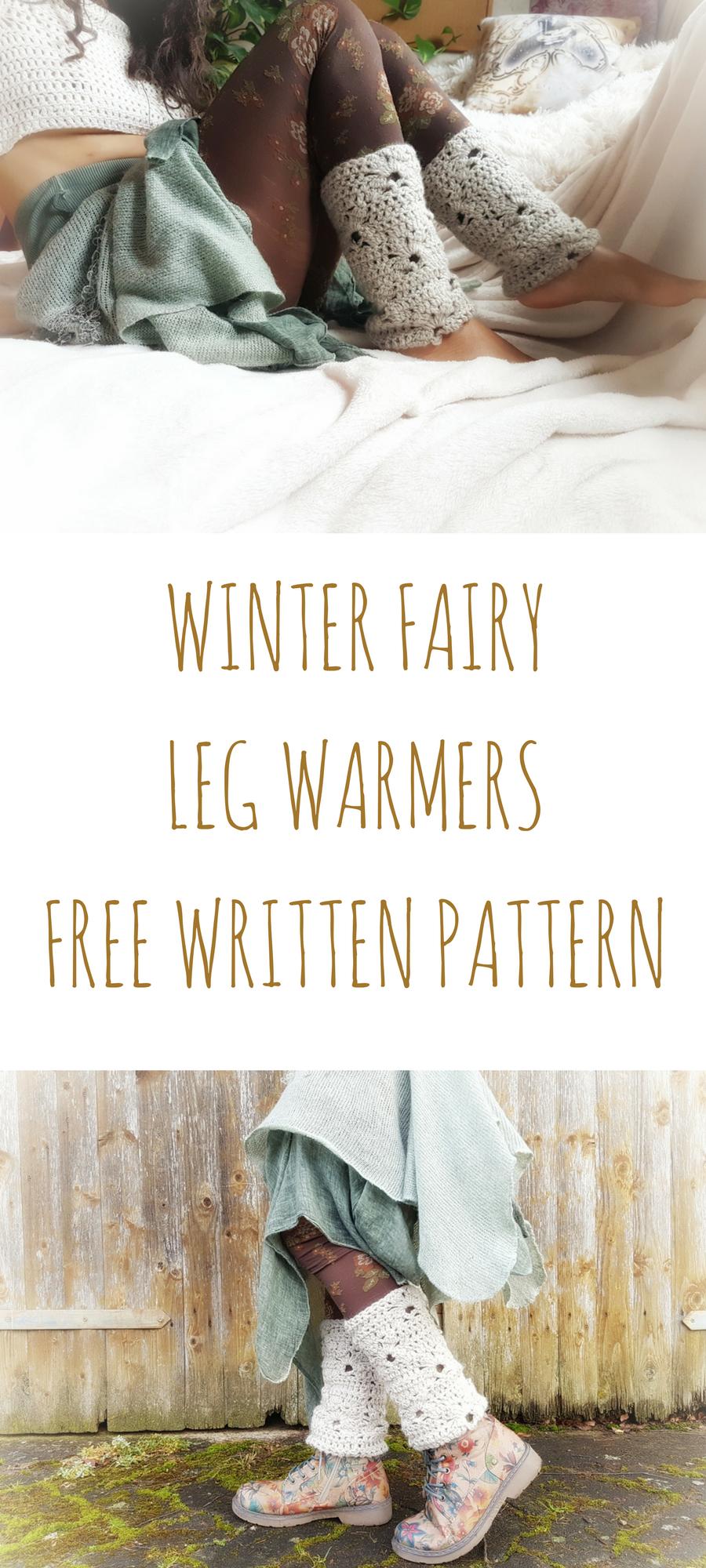 Free crochet pattern - Legwarmers | Patrones | Pinterest | Abrigos ...