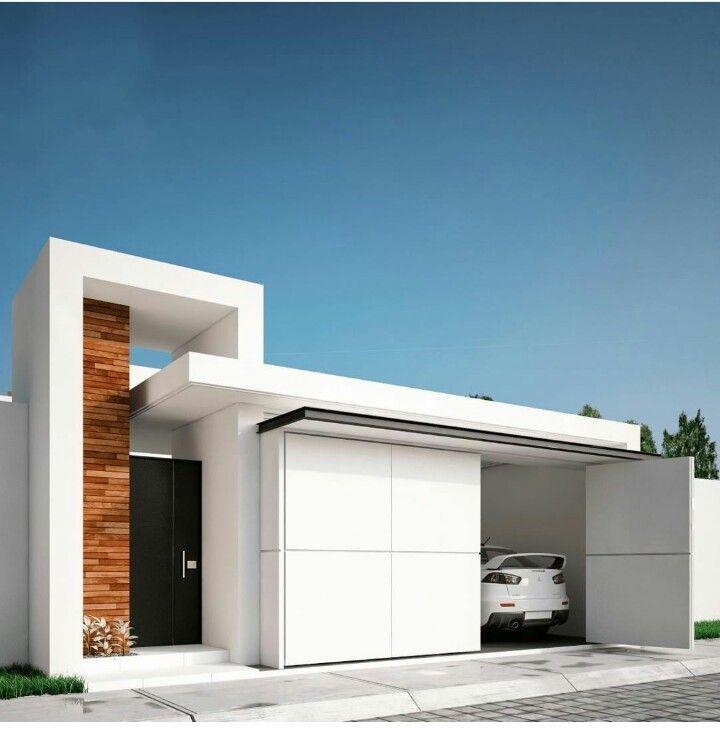 dise o limpio moderna pinterest dise o limpio On exteriores de casas minimalistas