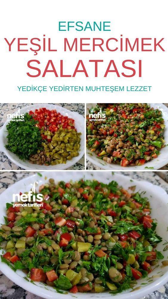 Salade de lentilles - délicieuses recettes - # 3673269
