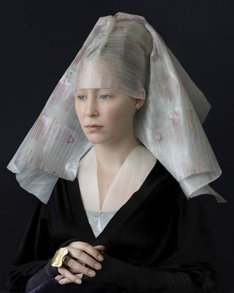 Suzanne Jongmans Reinterprets 16th and 17th Century Portraiture