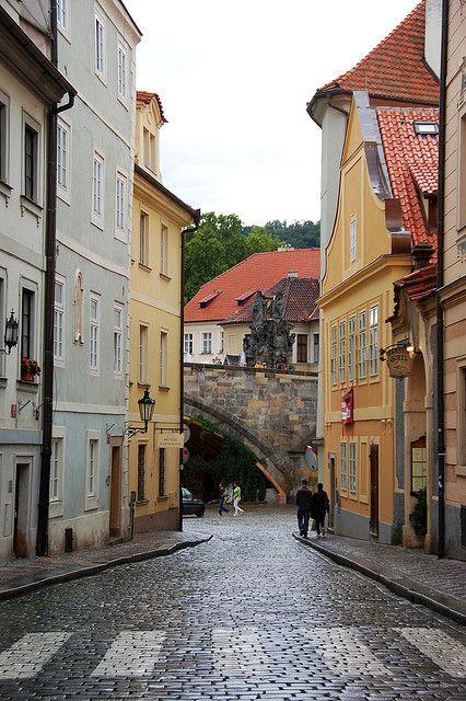 #Prague, Czech Republic - #Charles bridge near #Kampa island http://www.svasek.eu