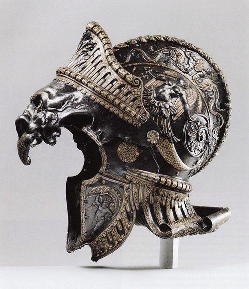 Helmet, Filippo Negroli (1510 - 1579)