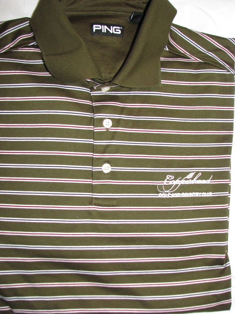 brown golf shirts