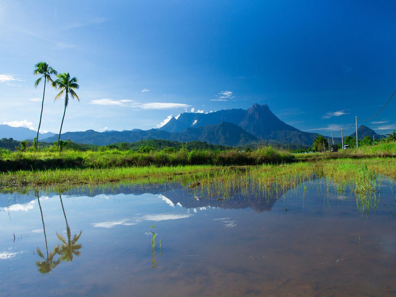 Gunung Kinabalu - The Highest Mountain in Malaysia