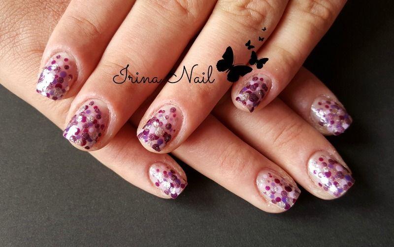 Doting Tool nail art nail art by Irina Nail