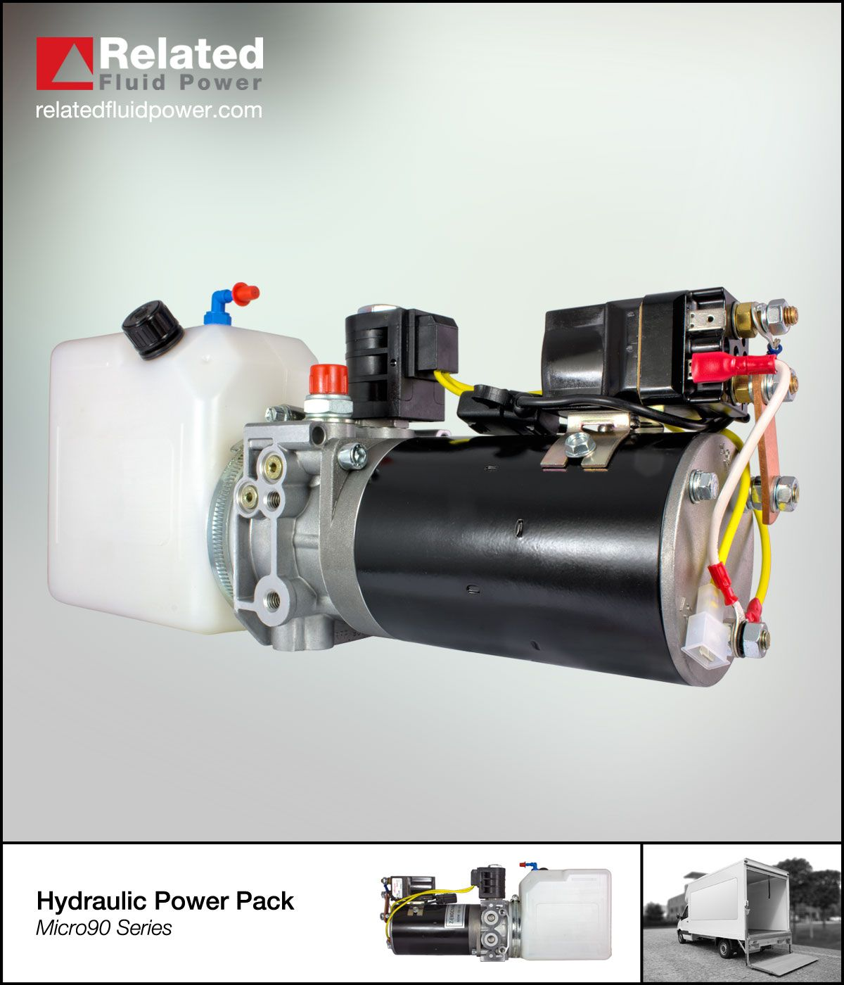 Micro90 Series Hydraulic Power Packs Compact Lightweight And Versatile Hydraulic Systems Hydraulic Power Pack