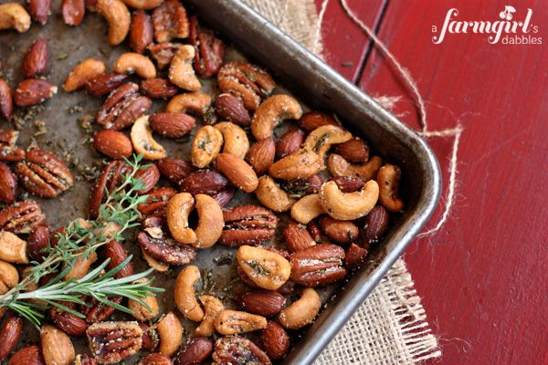 Spiced Rosemary and Thyme Nuts while they are roasting could be stuffed into a candle scent. Because it's just plain heavenly. Warm and nutty, and embraced in the freshness of rosemary and thyme, these nuts are my kind of irresistible. More than 10 years ago, I was introduced to …