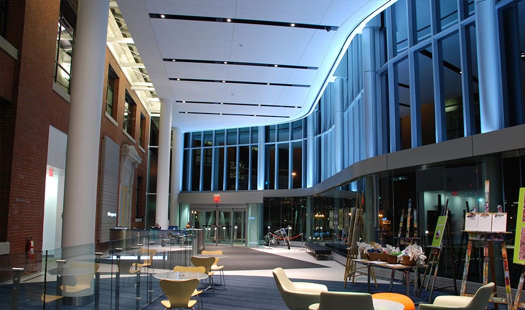 Procter Gamble Gillette Corporate Headquarters Bhdp Office Interior Design Pinterest