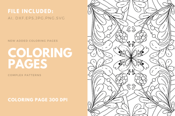 Print on Demand: Coloring Book for Pencil Work on KDP Graphic