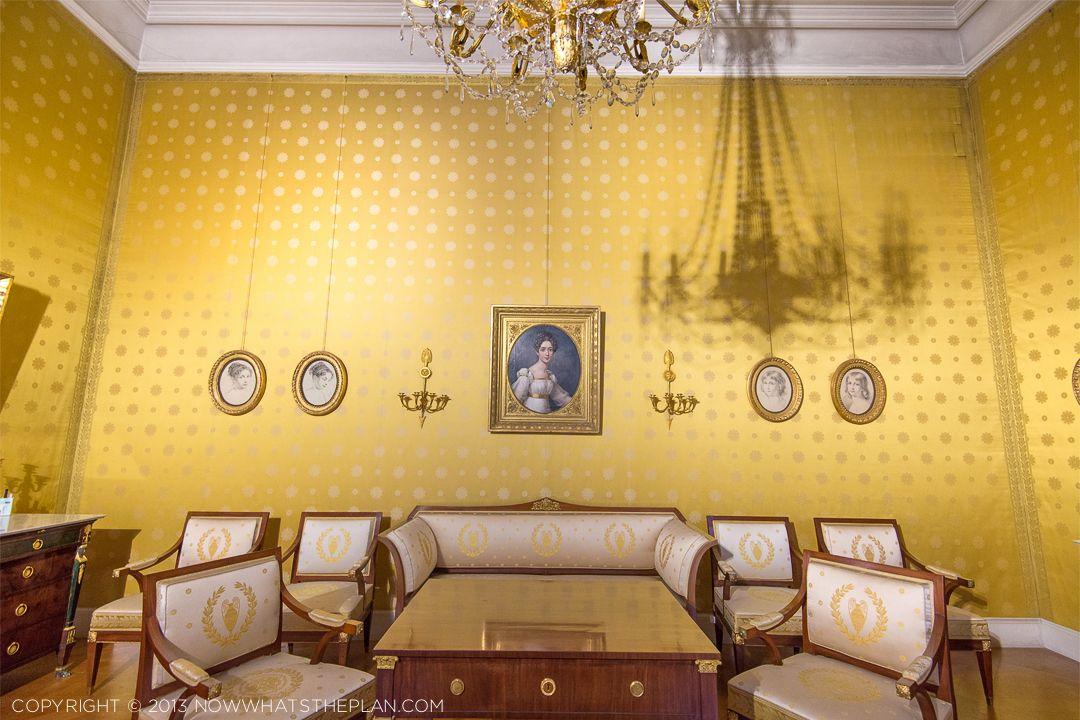 Munich Residenz MuseumYellow and gold