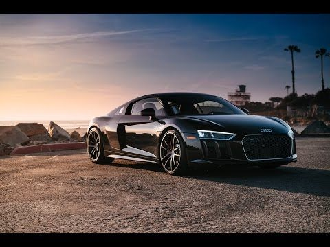 Tuning 2017 Audi R8 Black Youtube Audi R8 Spyder Audi Audi R8