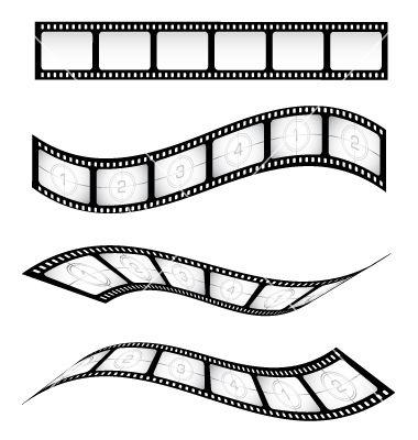 Film Reel Vector Image On Vectorstock Film Reels Movie Reels Film Strip