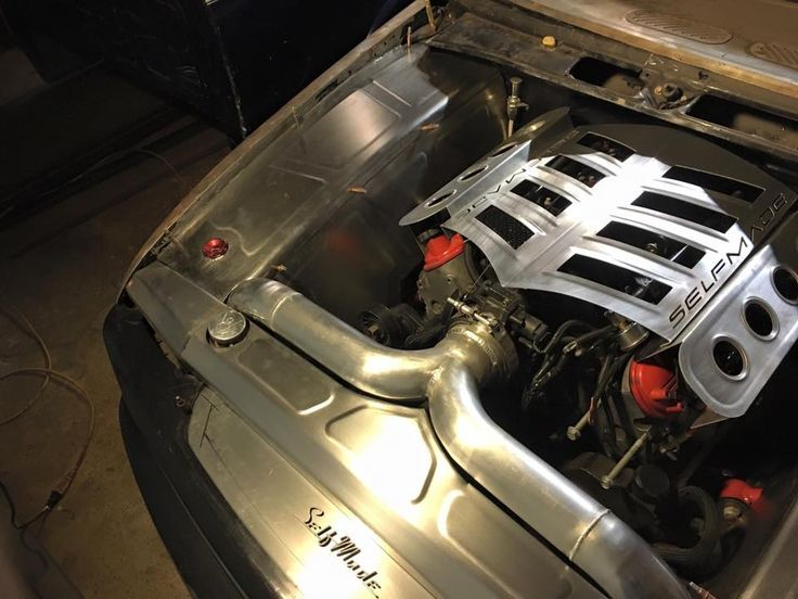 ls engine custom coil valve covers and intake selfmade