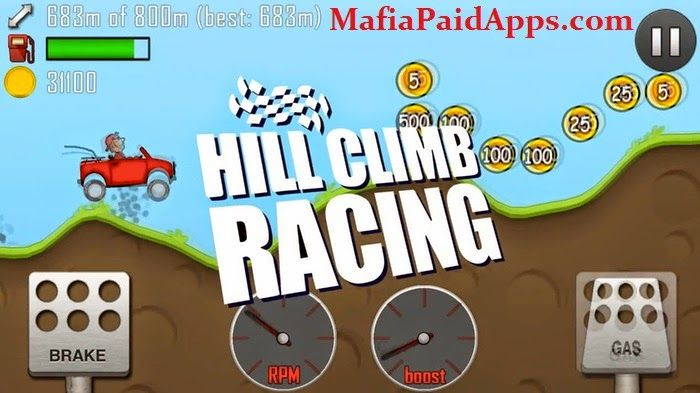 Hill Climb Racing v1 30 2 (Mod Money/Fuel/Ad-Free) Apk One